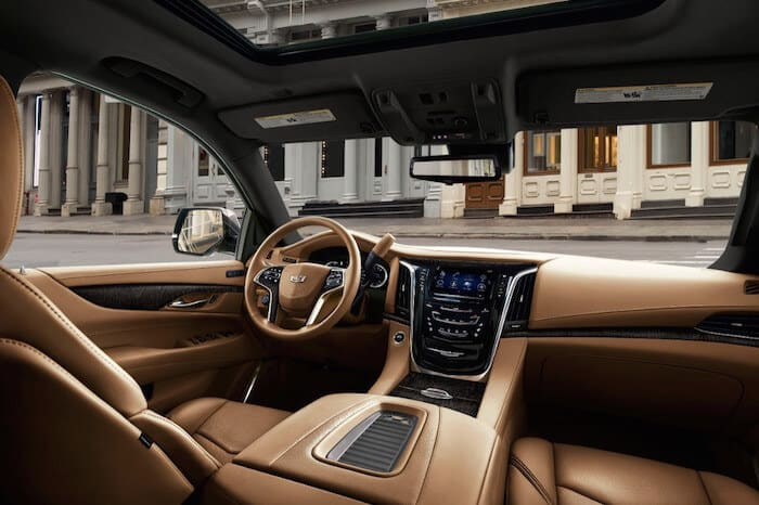 2018 Cadillac Escalade ESV Platinum Test Drive Photo Gallery