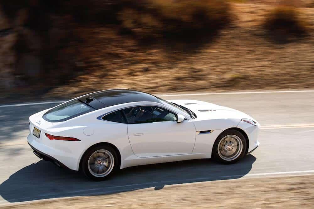 2018 Jaguar F-Type Turbo-Four Test Drive Photo Gallery
