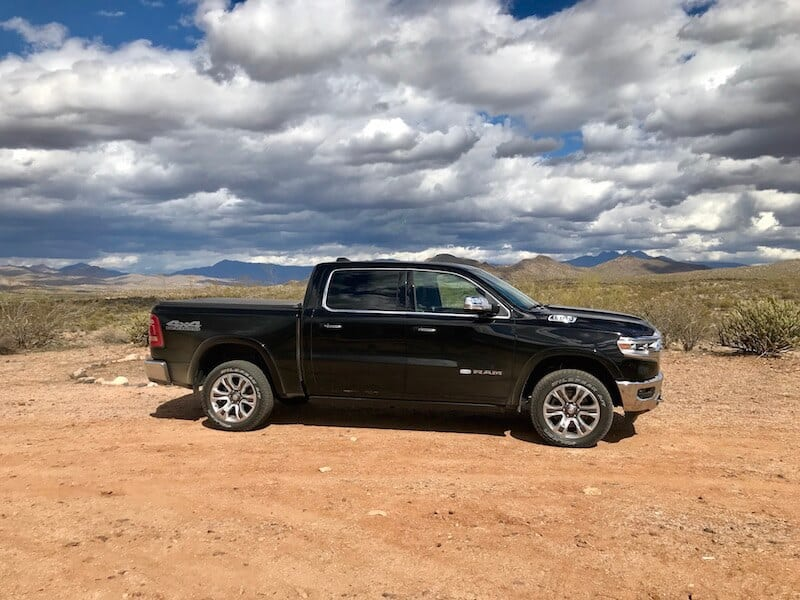 All-New 2019 Ram 1500 Strikes A Pose in the Arizona Desert Photo Gallery