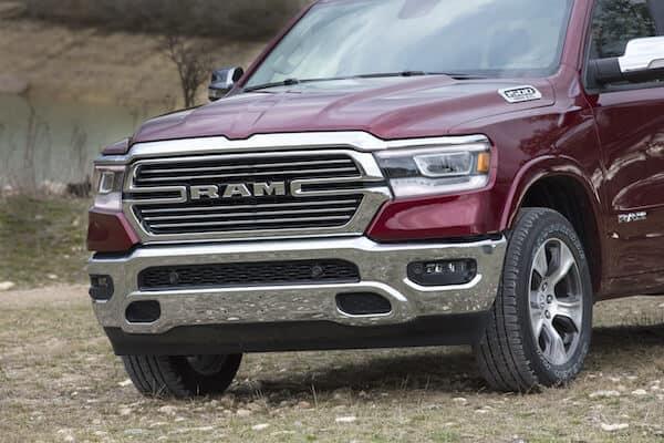 2019 Ram 1500 Laramie Crew Cab 4X4 Test Drive Photo Gallery