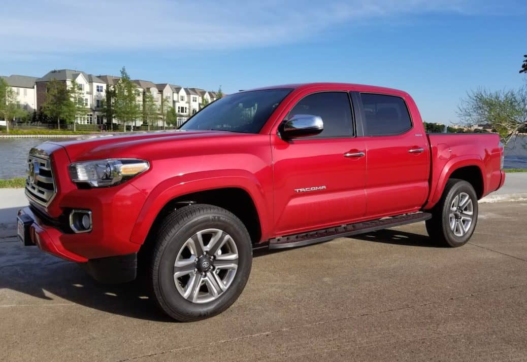 2018 Toyota Tacoma TRD Sport Test Drive Photo Gallery