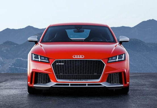 2018 Audi TT RS Coupe Test Drive Photo Gallery