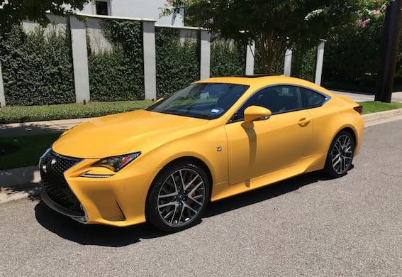 The 2018 Lexus RC 300 F Sport Excels With Good Looks, Excellent Ride Photo Gallery
