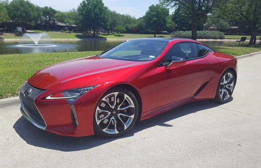 The 2018 Lexus LC 500 Coupe Is One Seriously Sultry Cruiser Photo Gallery