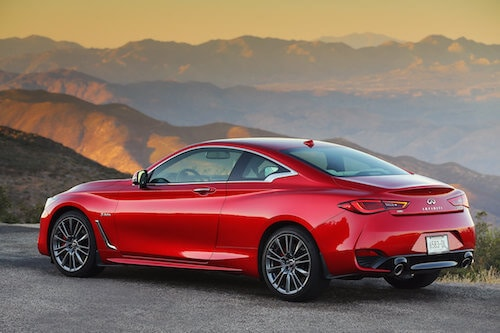 2018 Infiniti Q60 Red Sport 400 Backs Up Sizzle With Substance Photo Gallery
