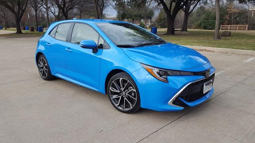 2019 Corolla Hatchback XSE Review Photo Gallery