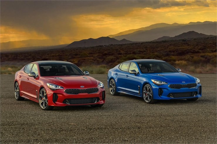 2018 Kia Stinger GT2 Test Drive and Review Photo Gallery