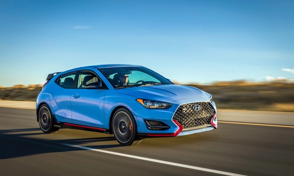 2019 Hyundai Veloster N Review Photo Gallery