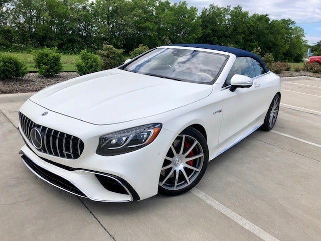 2019 Mercedes-Benz AMG S63 Cabriolet Review Photo Gallery