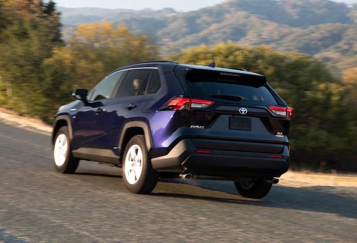 2019 Toyota RAV4 XSE Hybrid Review Photo Gallery