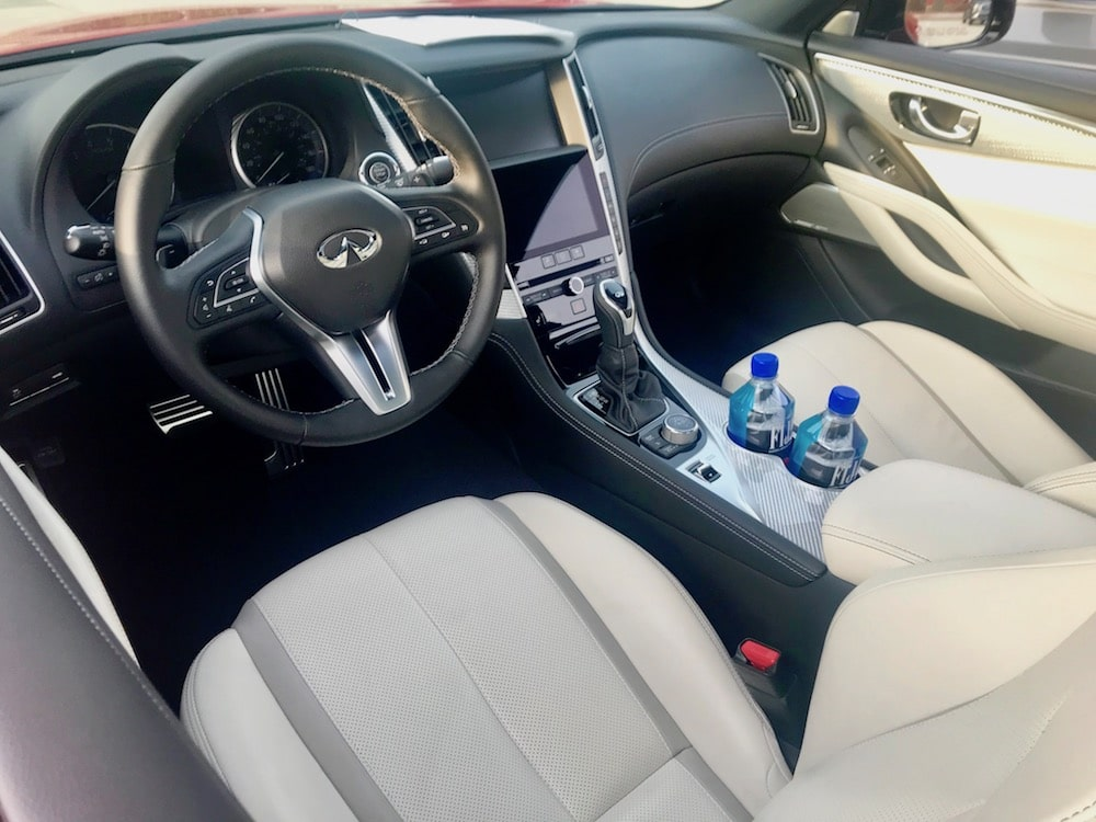 2019 Infiniti Q60 Red Sport 400 AWD Review Photo Gallery