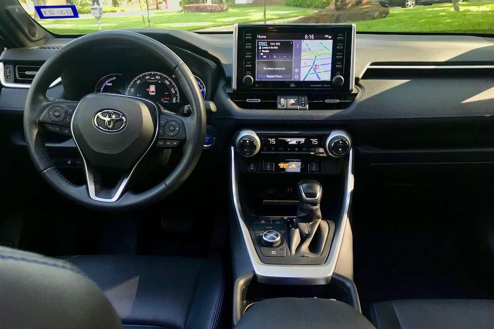 2019 Toyota RAV4 Hybrid XSE AWD Review Photo Gallery