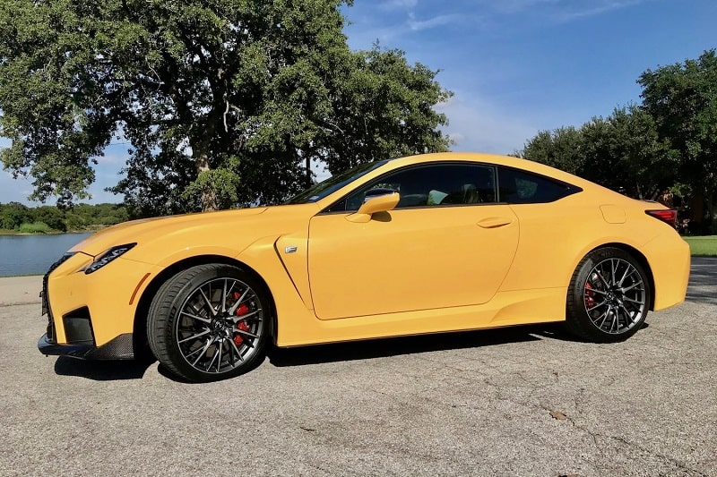 2020 Lexus RC F Performance Review Photo Gallery