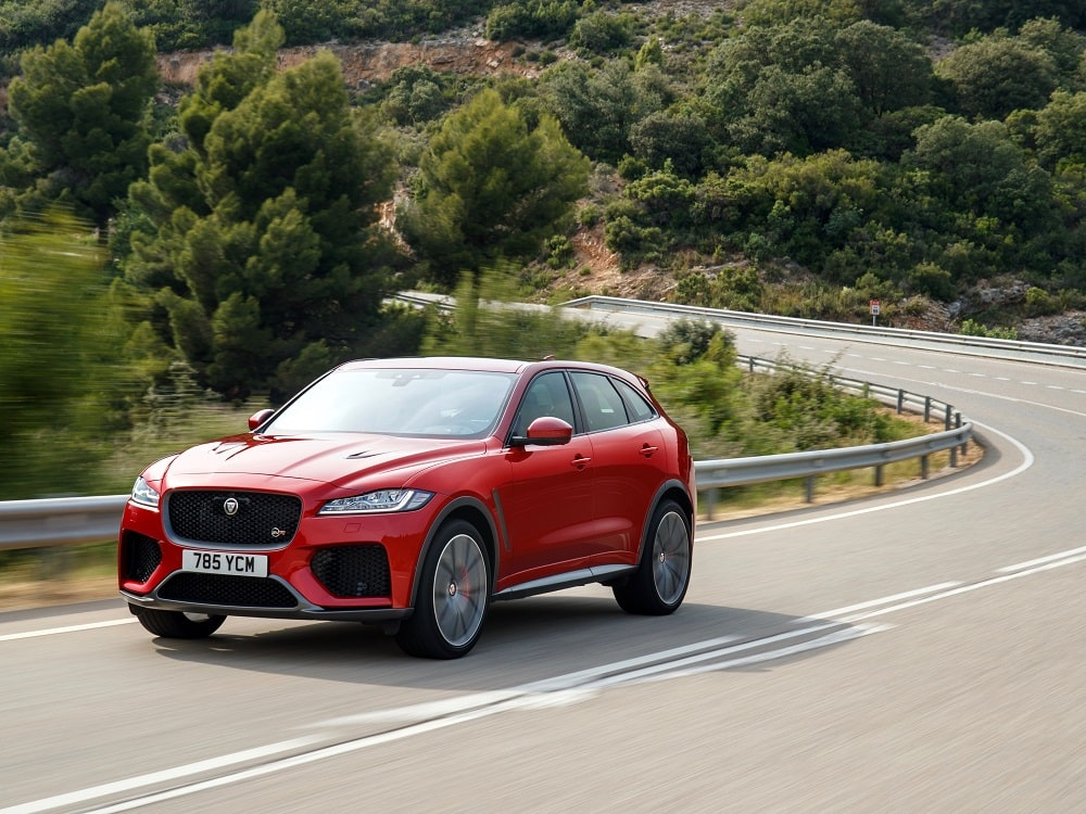 2019 Jaguar F-Pace SVR Review Photo Gallery