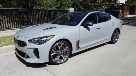 2019 Kia Stinger GT2 Review Photo Gallery