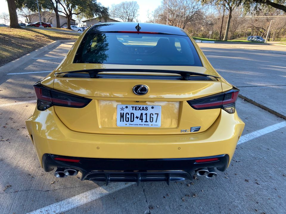 2020 Lexus RC F Review Photo Gallery