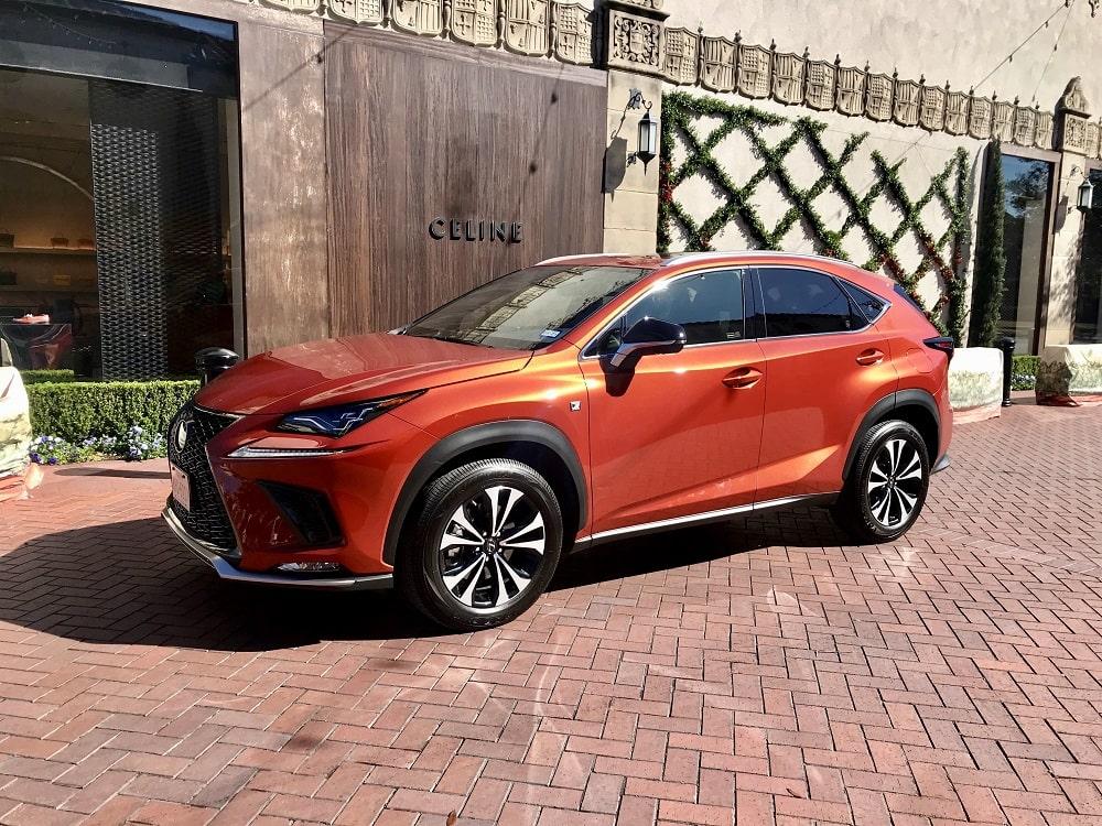 2020 Lexus NX 300 F Sport Premium Review Photo Gallery