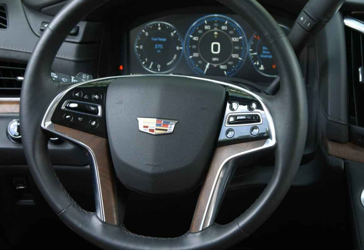 Test Drive: 2015 Cadillac Escalade Review Photo Gallery